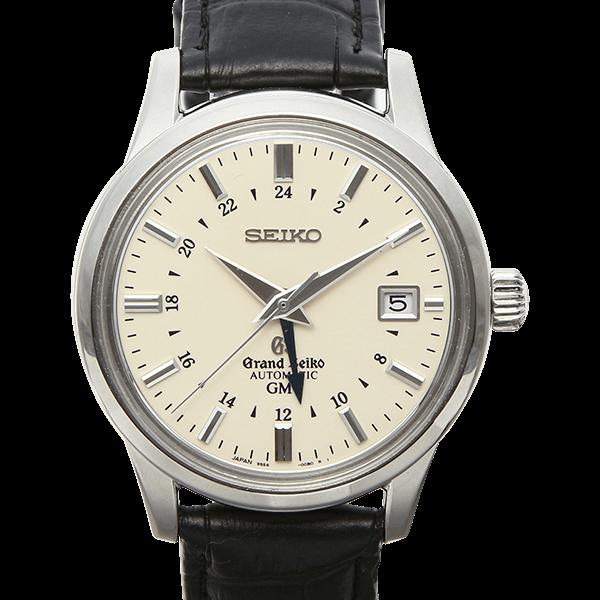 グランドセイコー メカニカル GMT ホワイト (※社外ベルト)