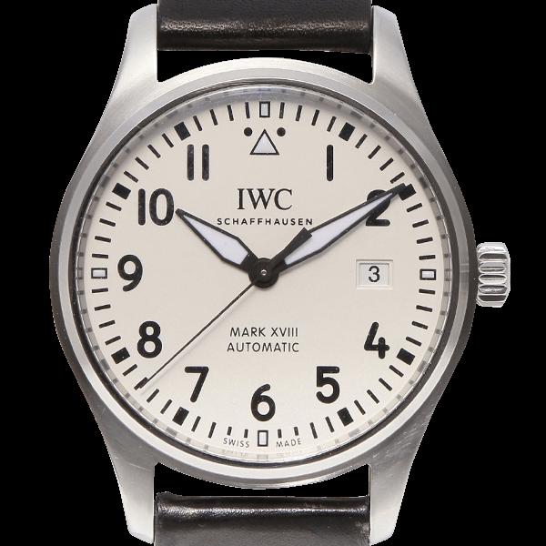 IWC パイロットウォッチ マーク18 ホワイト