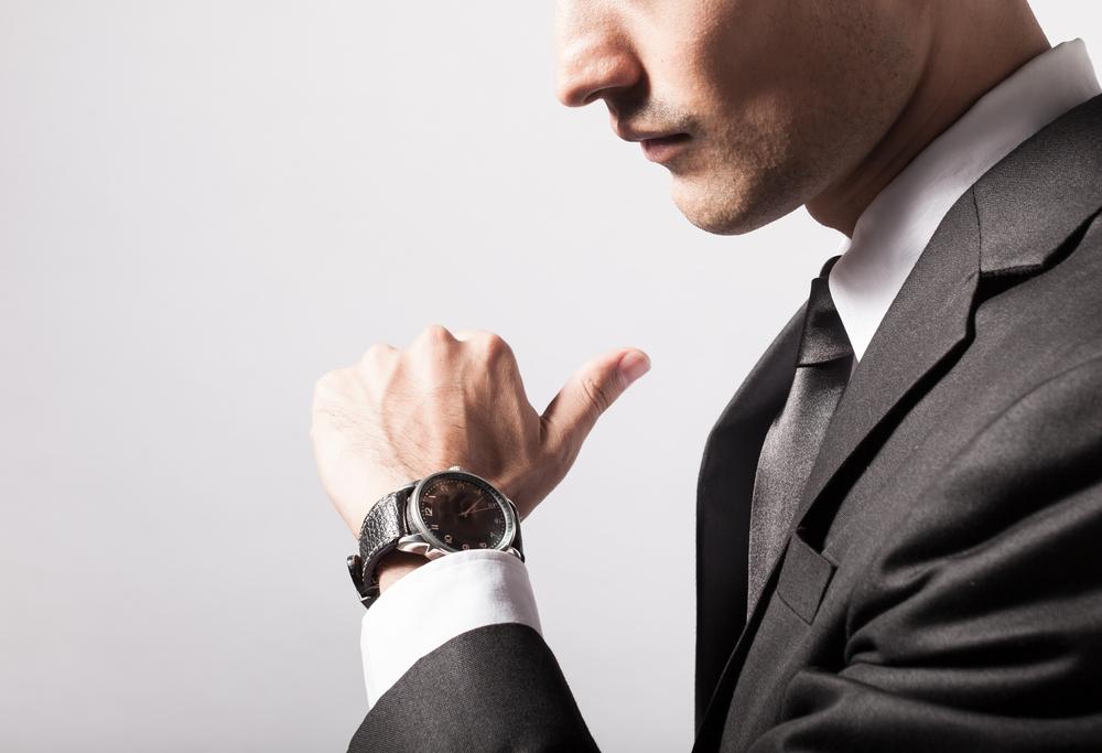 海外の人がつけた腕時計