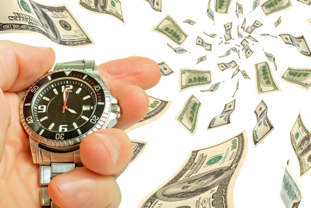 外国の腕時計とお金