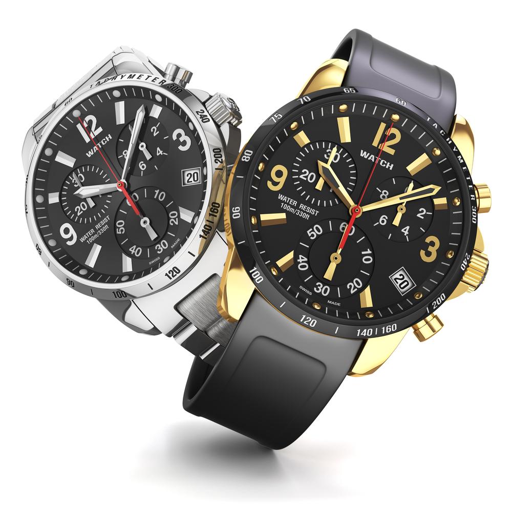 2本の腕時計